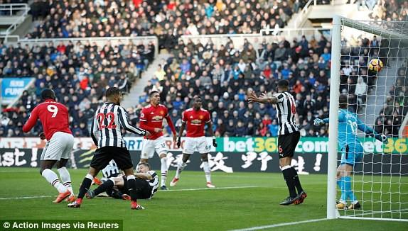 Hình ảnh: Lukaku không được công nhận bàn thắng