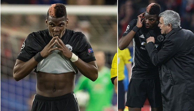 Hình ảnh: Mourinho còn phải ''gò nắn'' Pogba nghiêm khắc để TV người Pháp hòa nhập và phát huy hết tiềm năng