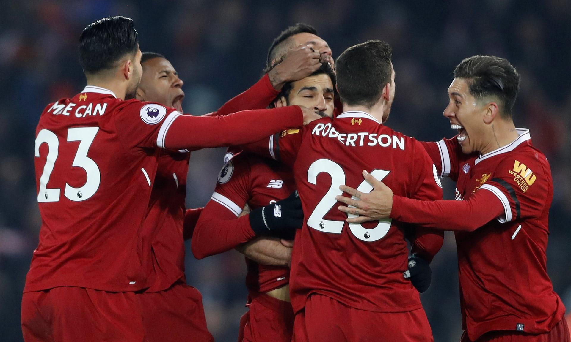 Hình ảnh: Mo Salah tiếp tục tỏa sáng ở tuyến đầu Liverpool