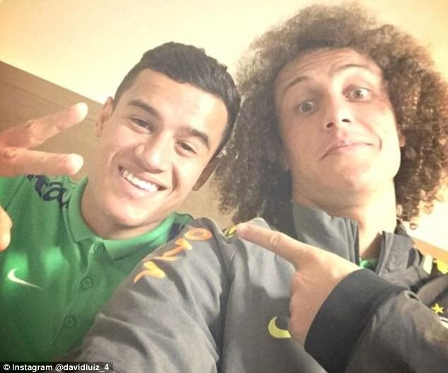 Hình ảnh: Coutinho sẵn sàng kéo Luiz về Camp Nou