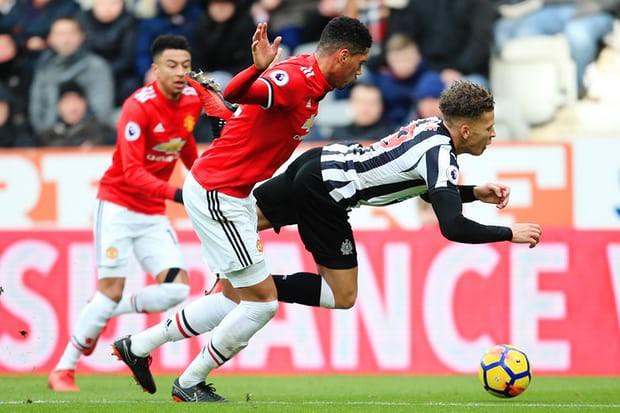 Hình ảnh: Tưởng như MU sẽ có 1 trận đấu dễ dàng trước đối thủ ưa thích Newcastle...