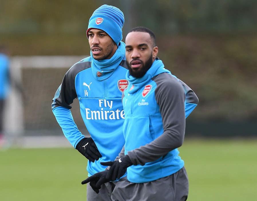 hình ảnh: Arsenal đã phá 2 kỷ lục khi chiêu mộ Aubameyang và Lacazette mùa này