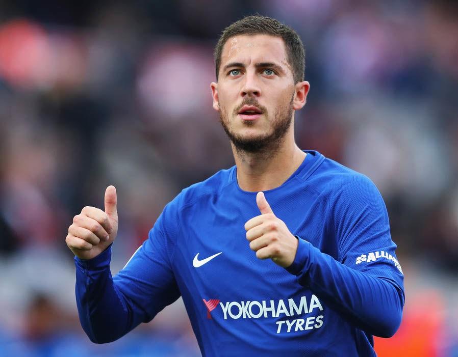 Hình ảnh: Hazard sẽ không chuyển sang Real mà ở lại gắn bó lâu dài với Chelsea