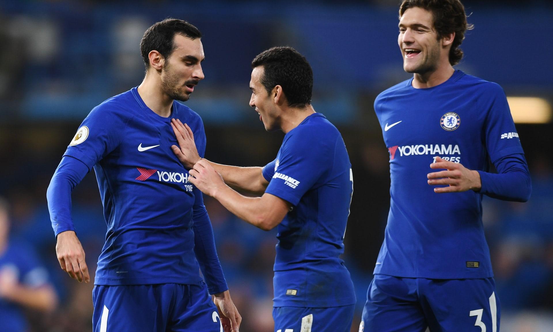 Hình ảnh: Chelsea đã có chiến thắng ngọt ngào chia tay năm cũ