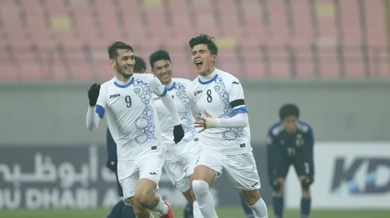 Hình ảnh: U23 Uzbekistan đang thể hiện phong độ cực kỳ ấn tượng trên hành trình vào trận CK U23 châu Á gặp U23 Việt Nam