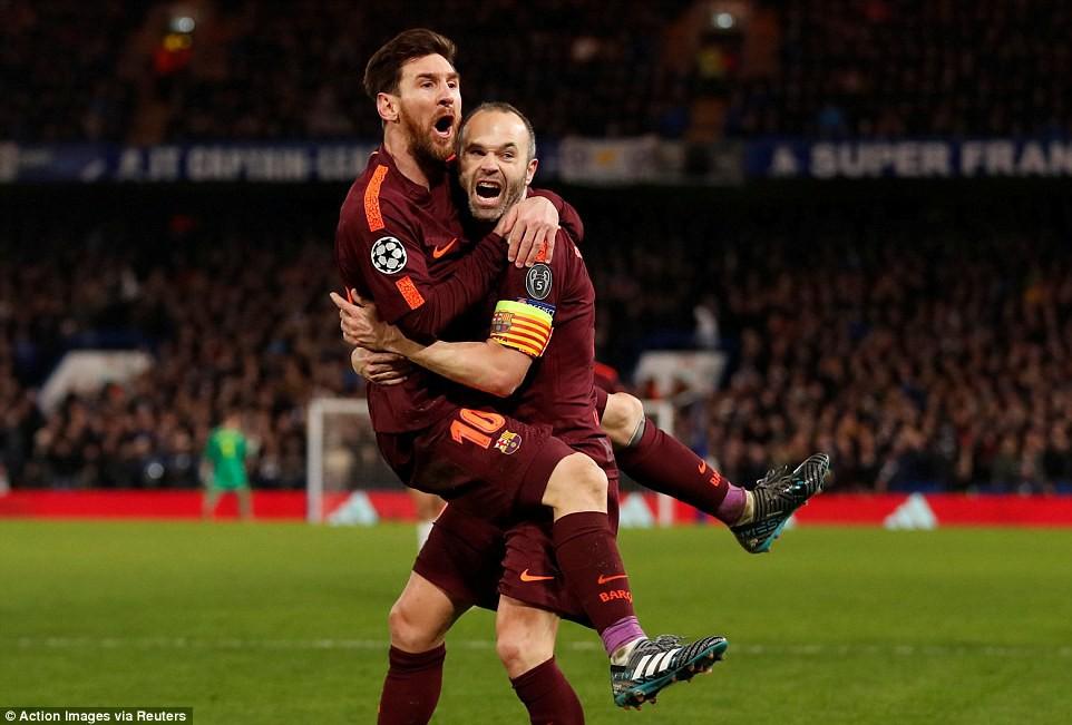Hình ảnh: Messi không chỉ giải cơn khô hạn mà còn mang về lợi thế cho Barca trước trận lượt về