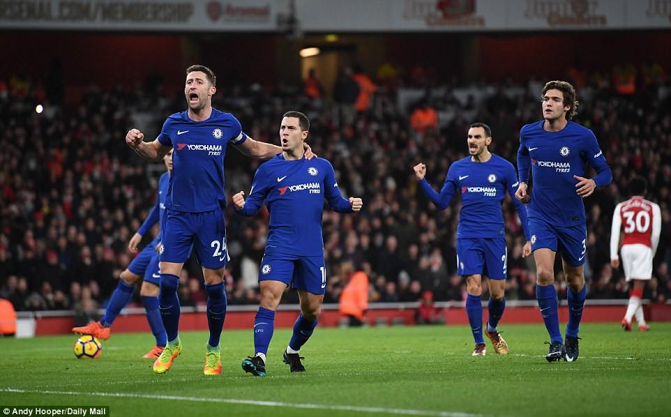 Hình ảnh: Hazard chạm mốc tham gia 100 bàn ở giải NHA