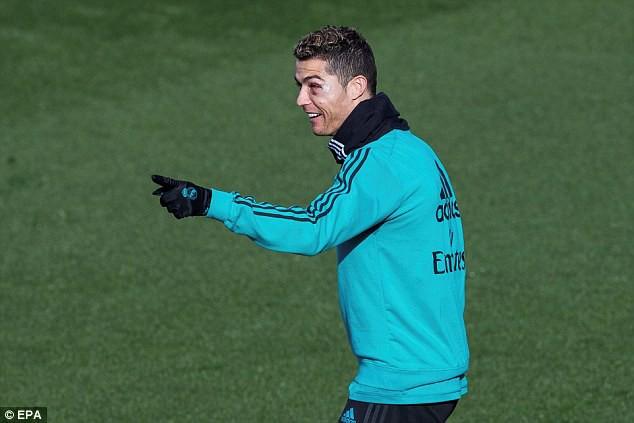 Hình ảnh: Ronaldo được cho là sẽ bị đẩy đi Hè này