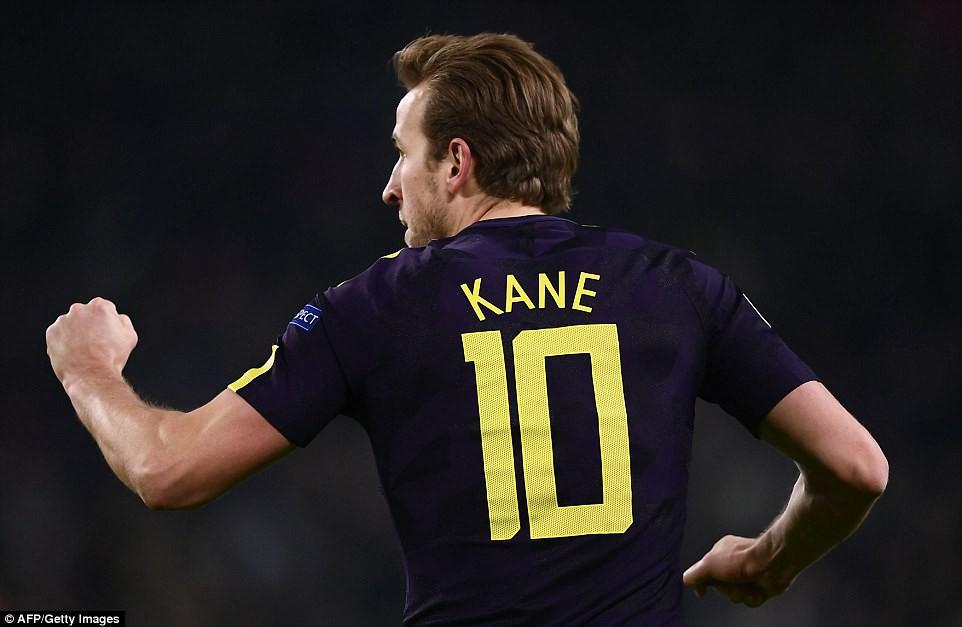 Hình ảnh: Kane tiếp tục duy trì hiệu suất ghi bàn tuyệt vời