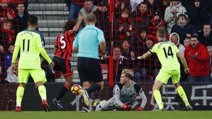 Hình ảnh: Trận Bournemouth - Liverpool mùa trước được ví như phim bom tấn giật gân gây sốc