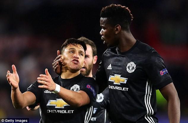 hÌNH ẢNh: Sanchez và Lukaku sẽ phải tìm lại phong độ săn bàn tốt nhất trước Chelsea cuối tuần này