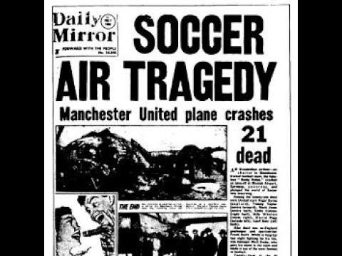 Hình ảnh: Tờ Mirror đưa tin về thảm họa Munich