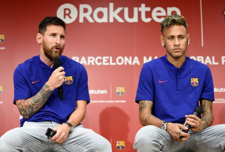 Hình ảnh: Neymar không muốn bị phân biệt đối xử như ''cái bóng của Messi''