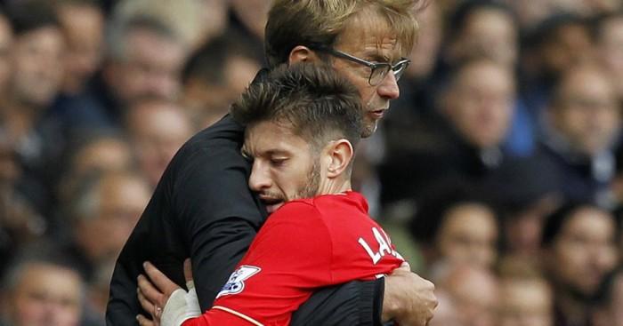 Hình ảnh: Klopp và Liverpool đang rất nhớ Lallana