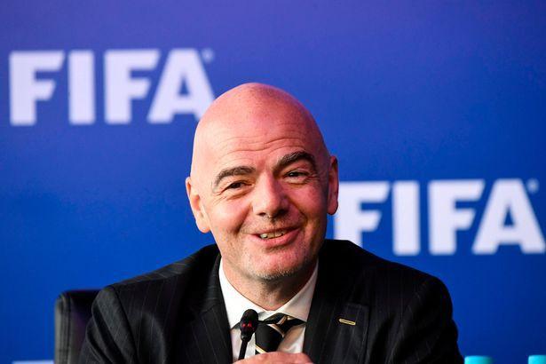 hình ảnh: CT Infantino tuyên bố VAR sẽ được sử dụng tại World Cup