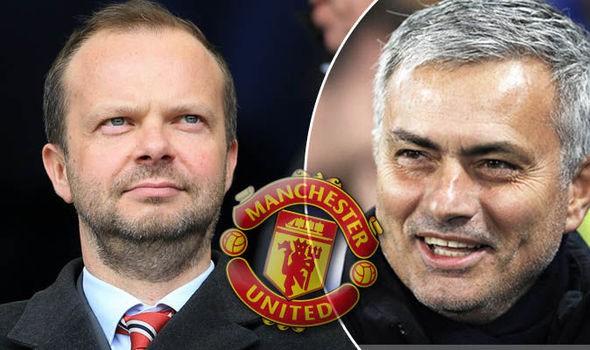 Hình ảnh: Mourinho đang hối thúc PCT điều hành Woodward sớm cấp tiền mua sắm trong kỳ chuyển nhượng mùa Đông này