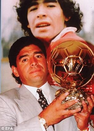 Maradona đã có thể giành bao nhiêu Quả bóng vàng?