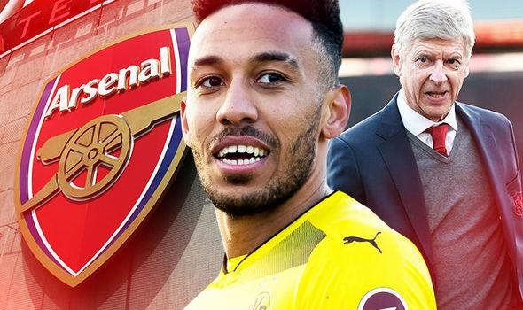 Hình ảnh: Arsenal sẽ đón Aubameyang trong 24h tới