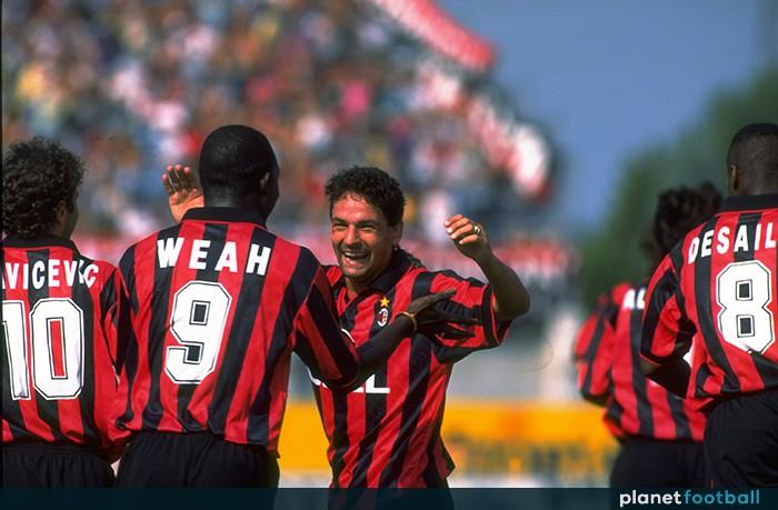 Hình ảnh: Chỉ những rắc rối không đáng có ngoài sân cỏ mới ngăn Baggio trải qua thời gian mà đáng nhẽ phải là rất đẹp đẽ với Milan