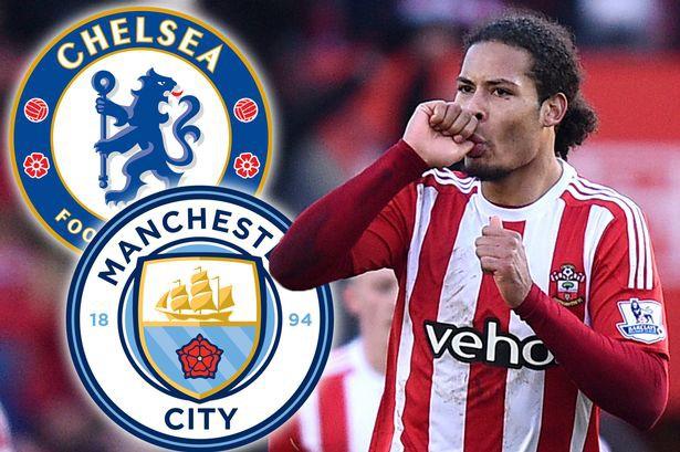 Hình ảnh: Chelsea sẽ đánh bại Man City trong cuộc chiến giành Van Dijk?