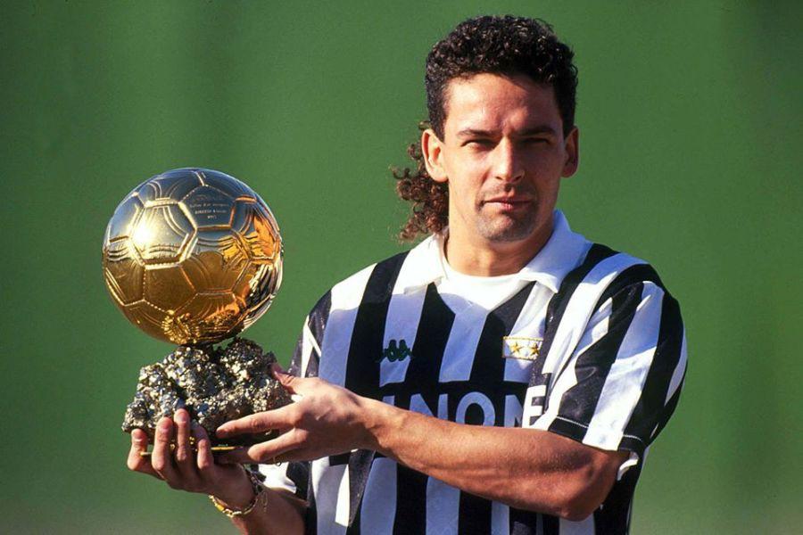 Hình ảnh: QBV châu Âu năm 1993 là mốc son tôn vinh tài năng của Baggio