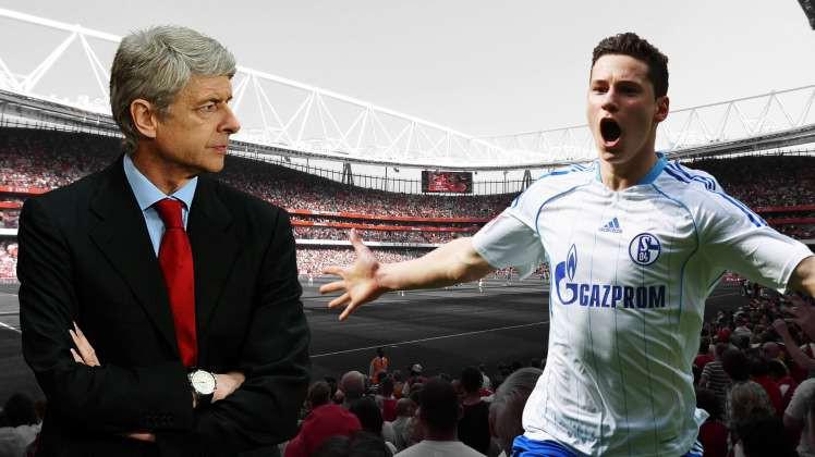 Hình ảnh: Wenger từng nhắm đến Draxler từ khi anh còn khoác áo Schalke