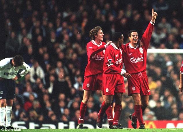 Hình ảnh: Liverpool nửa đầu mùa 1996/97 từng thắp lên cơ hội vô địch