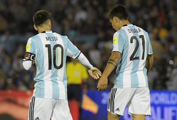 Hình ảnh: Dybala được xem như ngôi sao kế thừa Messi trong tương lai