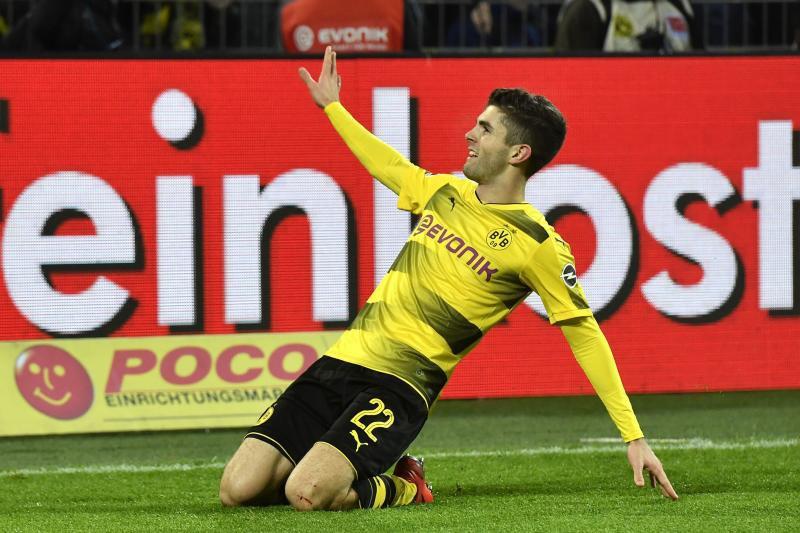 Hình ảnh: Pulisic đang là ngôi sao trẻ sáng giá nhất Bundesliga hiện tại