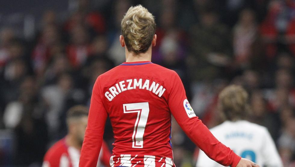 Hình ảnh: Griezmann sẽ tiếp tục đeo áo số 7 khi về Barca?