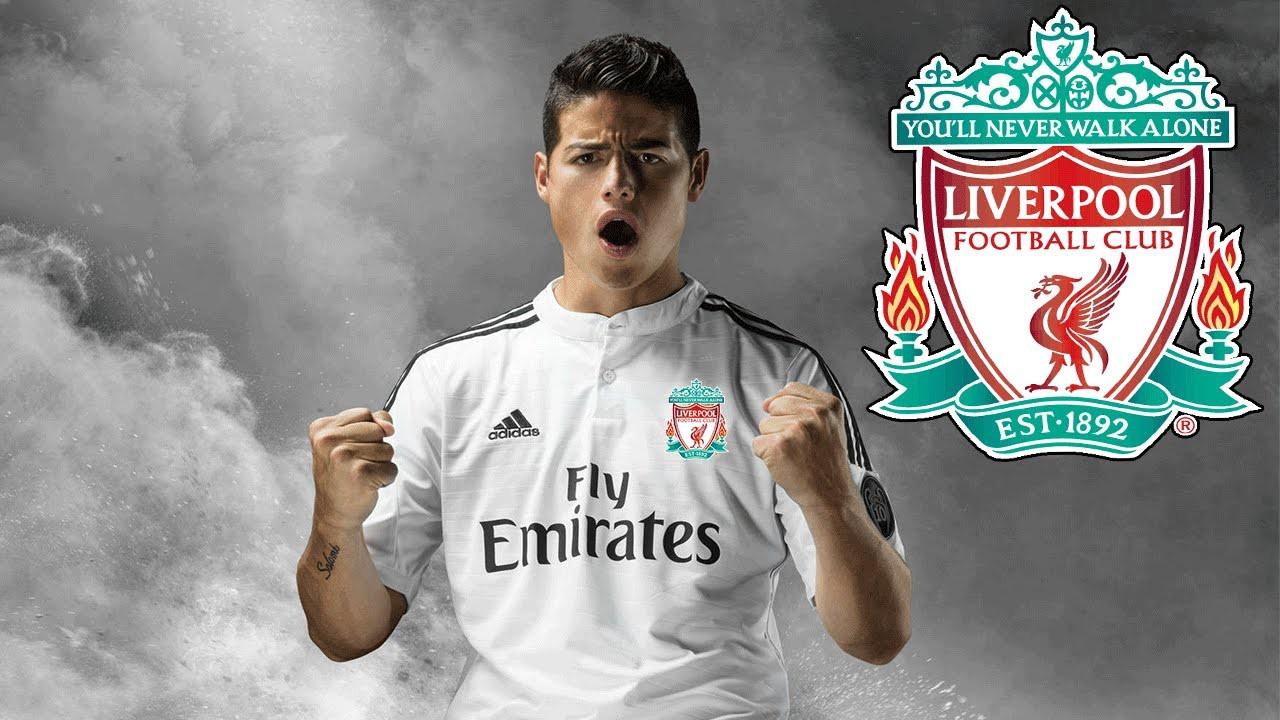 Hình ảnh: James Rodriguez từng được Liverpool nhắm tới khi còn ở Real