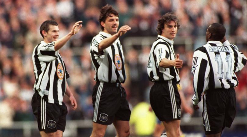 Hình ành: Đội hình vàng của Newcastle từng ''gây bão'' ở nửa đầu mùa 1995/96