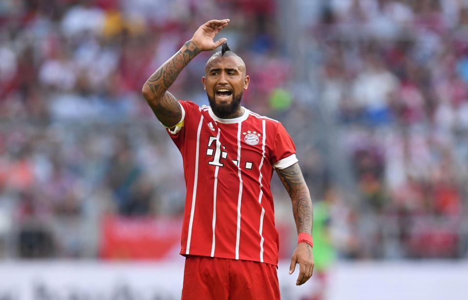 Hình ảnh: Bayern sẽ nhả Vidal trong tháng tới?