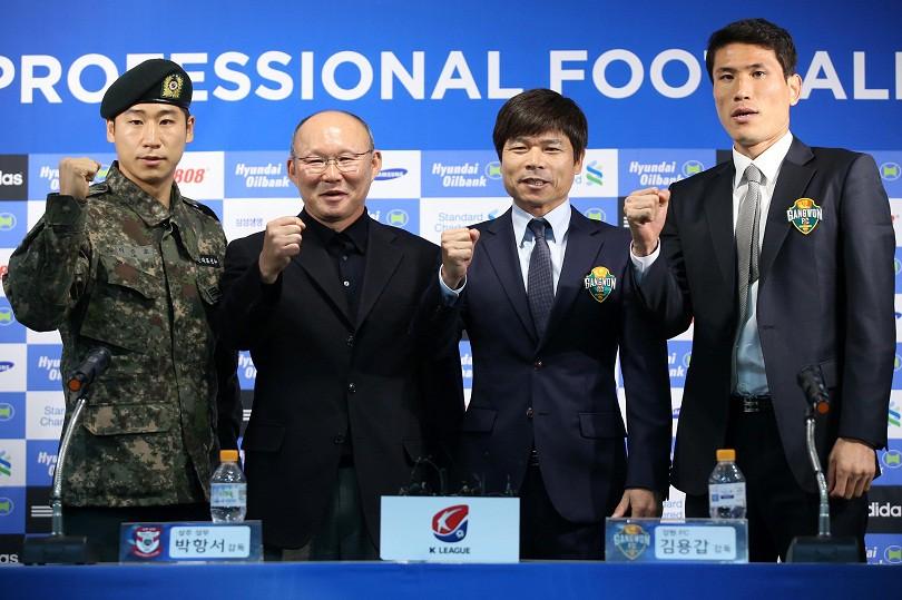 Hình ảnh: Ông Park Hang Seo vốn không phải là một cầu thủ được đào tạo bài bản về bóng đá ngay từ đầu.