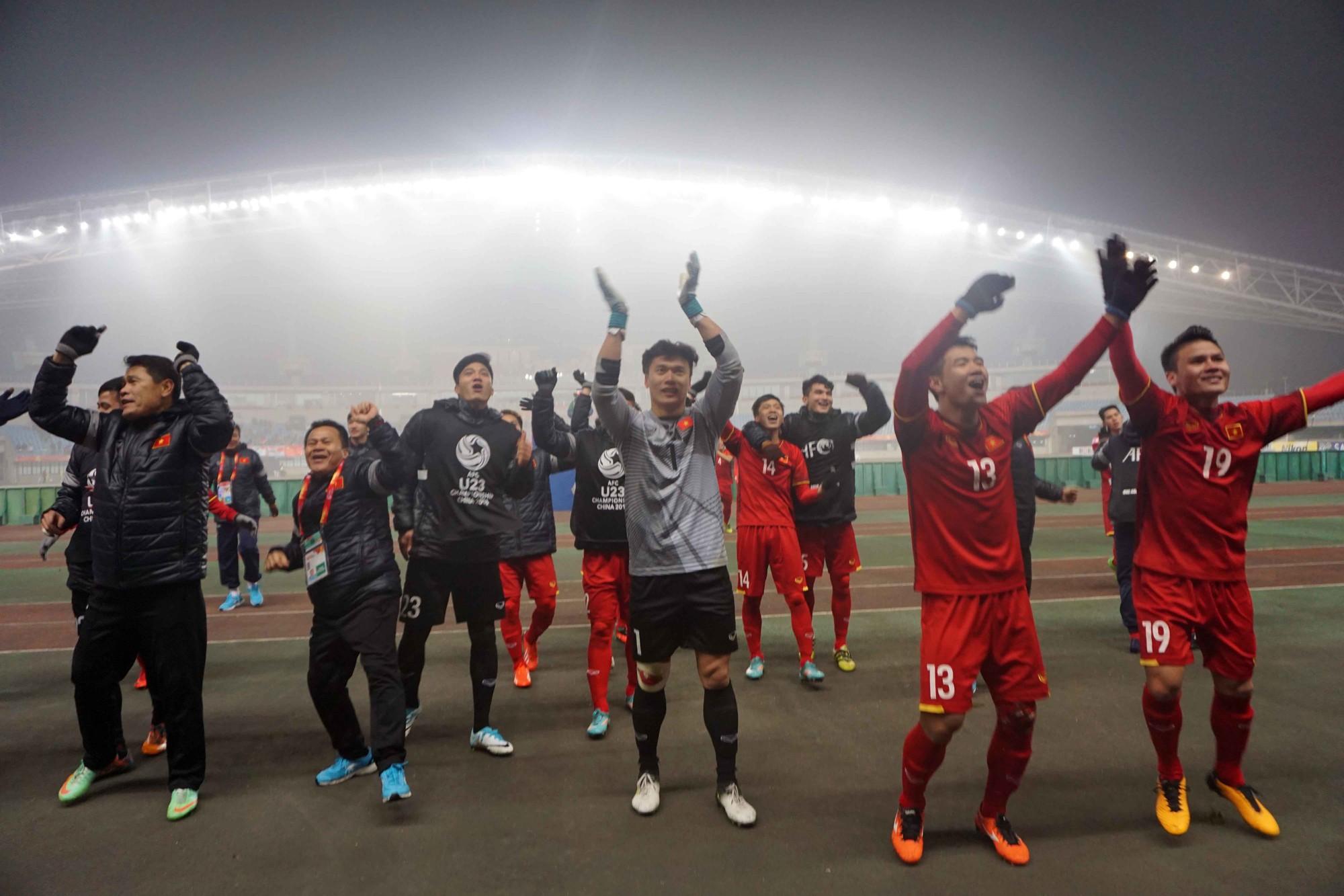 Hình ảnh: U23 Việt Nam cần giữ được sự tỉnh táo sau thành công tại VCK U23 Châu Á 2018.