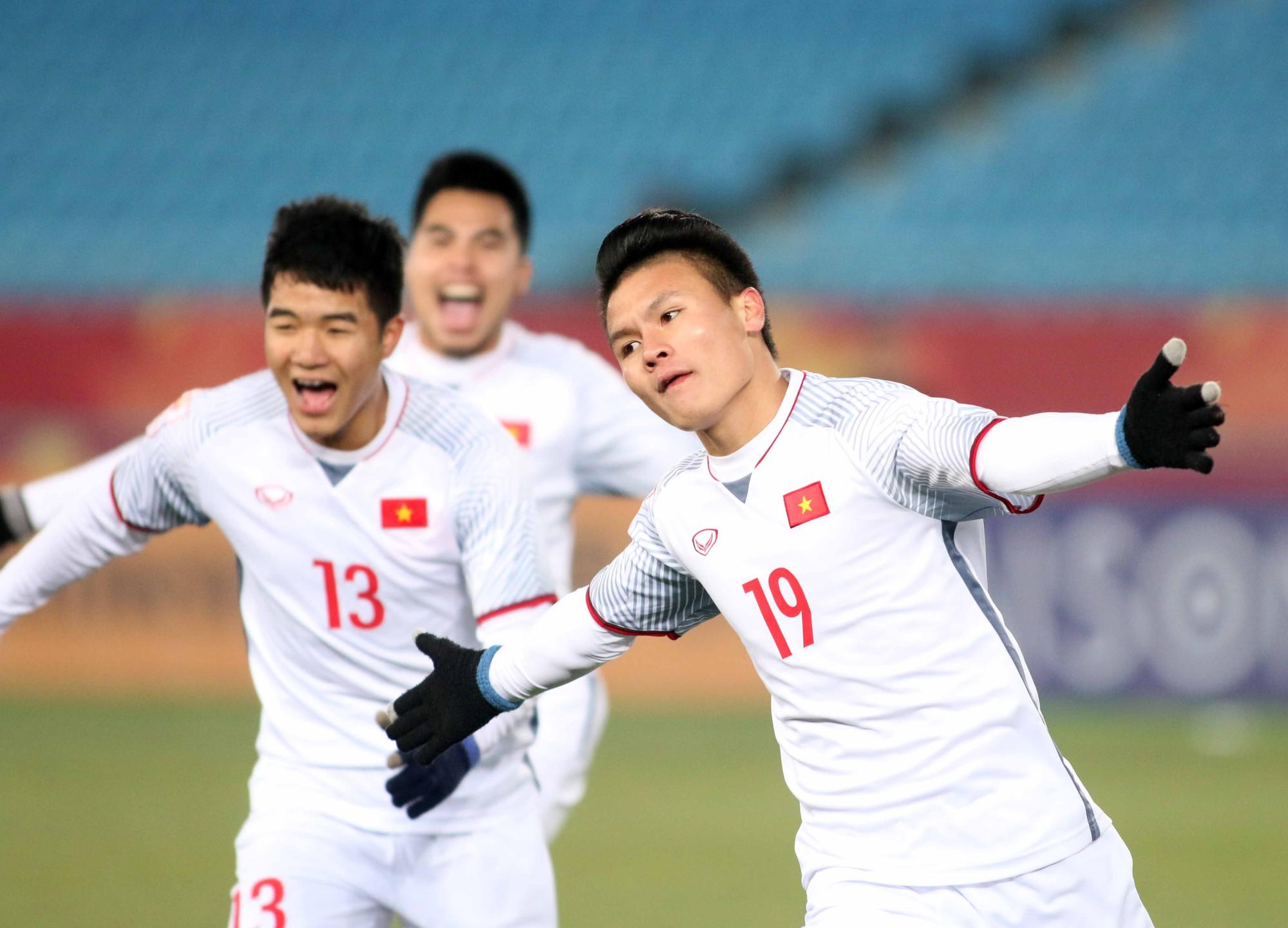 Hình ảnh: Thể lực của các cầu thủ U23 Việt Nam khiến ông Park Hang Seo hài lòng nhất.