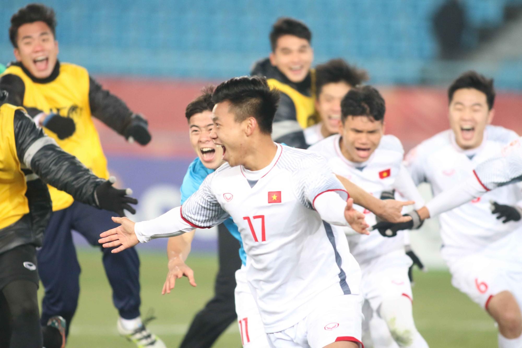 Hình ảnh: Sự kỷ luật là chìa khóa thành công của U23 Việt Nam.