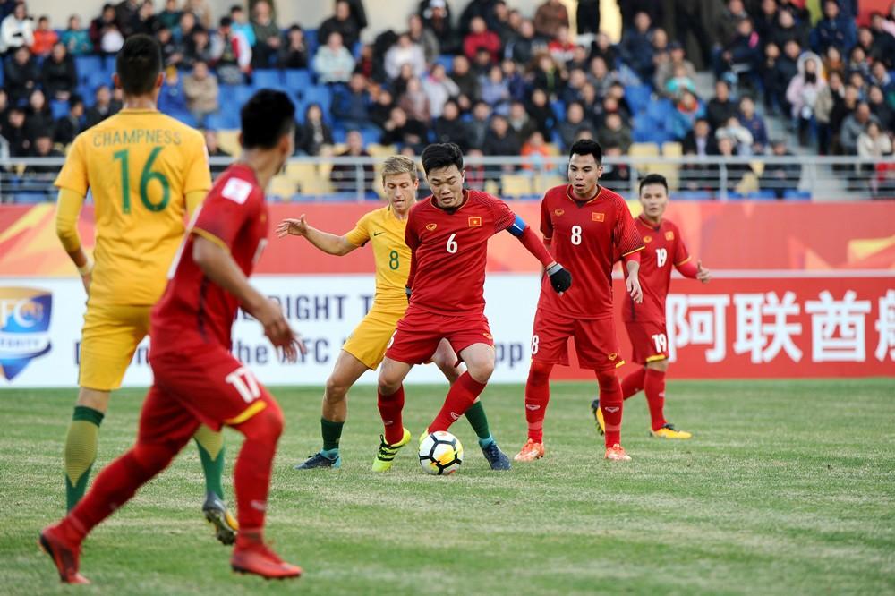 U23 Việt Nam sẽ phải tập trung sau chiến thắng lịch sử để hướng đến trận đấu gặp U23 Syria và kỳ vọng vượt qua vòng bảng. Ảnh: AFC.