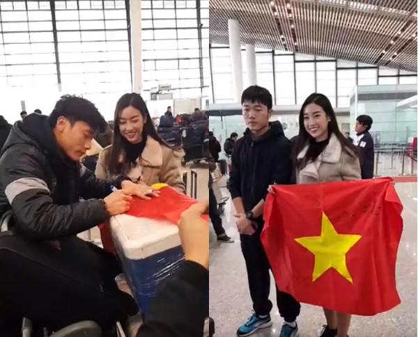 Hình ảnh tại sân bay Trường Châu, Trung Quốc. Ảnh: Internet.