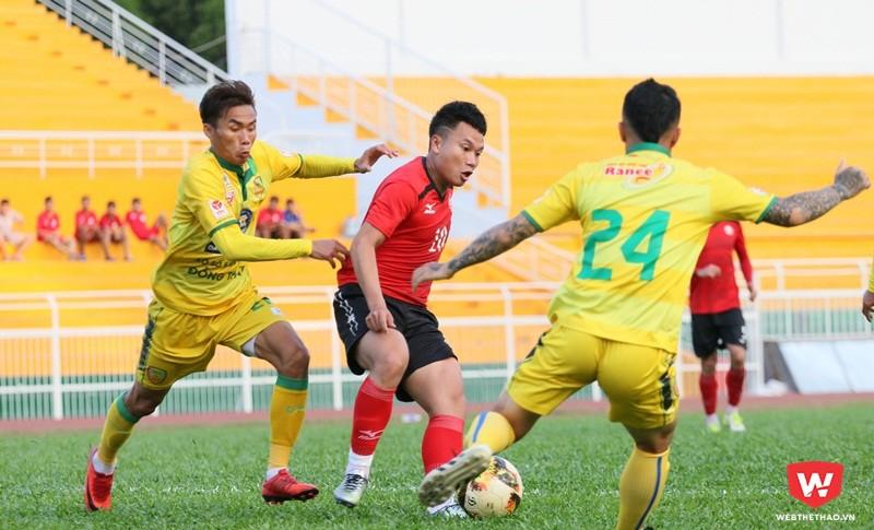 CLB TP.HCM tích cực chuẩn bị cho mùa giải 2018. Ảnh: Quang Thịnh.