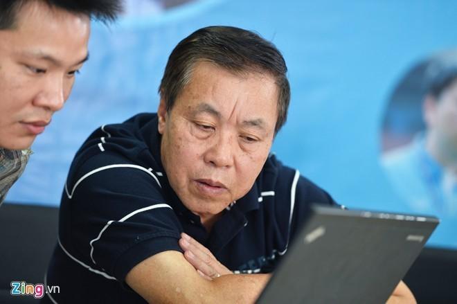 Chuyên gia bóng đá Vũ Mạnh Hải. Ảnh: Zing.vn.