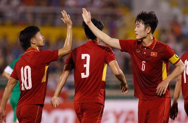 Xuân Trường và đồng đội ở HAGL sẽ mang trọng trách phát huy niềm cảm hứng ở U23 Việt Nam.