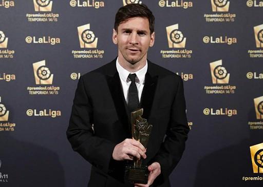 Và ''ẵm'' luôn giải thưởng tương tự của La Liga mùa 2014/15