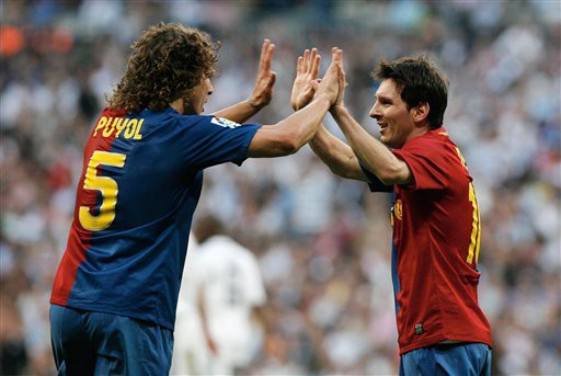 Puyol - Messi