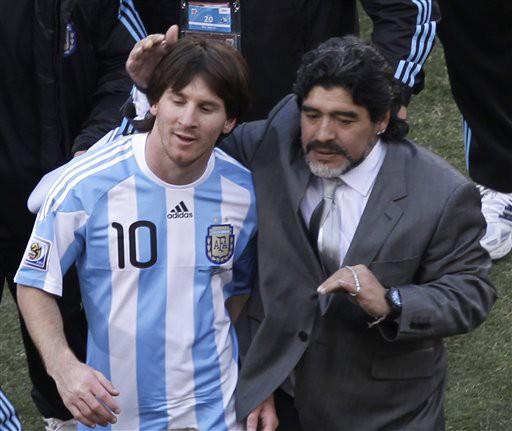 Lionel Messi - Diego Maradona