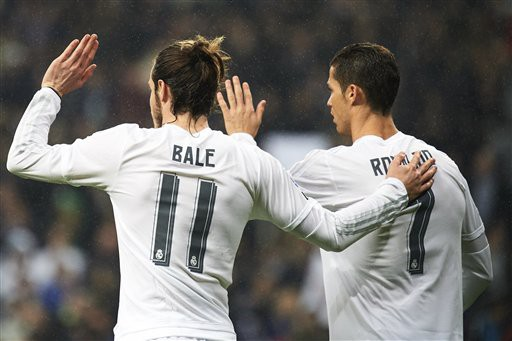 Bale - Ronaldo