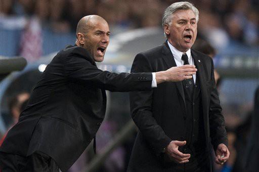 Zidane - Ancelotti