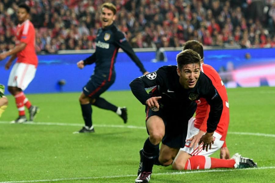 Điều ngọt ngào tương tự cũng đến với Atletico Madrid với chiến thắng trước Benfica để giành lấy ngôi đầu bảng C