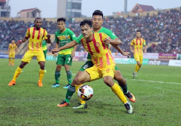 hình ảnh: Trực tiếp bóng đá: B. Bình Dương - Nam Định FC