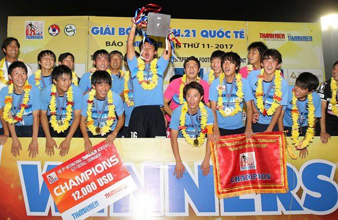 Hình ảnh: U21 Yokohama bảo vệ thành công ngôi vô địch sau trận thắng thuyết phục trước U21 Việt Nam